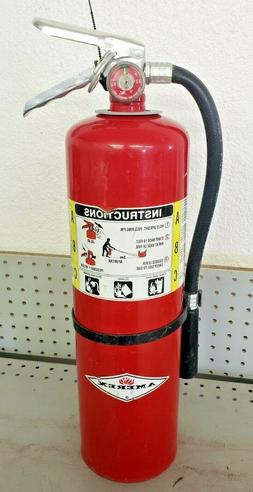 10lb Fire Extinguisher ABC Dry Chemical - Kidde - 4A 60BC -