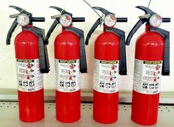 2.5lb Fire Extinguisher ABC Dry Chemical - Kidde Disposable