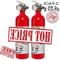2 Pack KIDDE 5-B:C Rated Disposable Fire Extinguisher Emerge