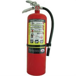 Badger Advantage 10 lb ABC Fire Extinguisher w/ Wall Hook 21