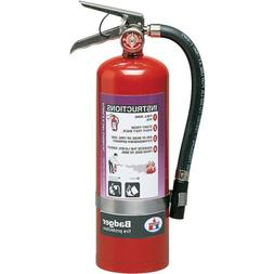 Badger 23488 Extra 5 lb Purple K Fire Extinguisher w/ Wall H