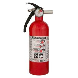Kidde 5B:C Rated Disposable Fire Extinguisher Red Prevention
