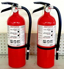 5lb Fire Extinguisher ABC Dry Chemical  - Kidde - DISPOSABLE