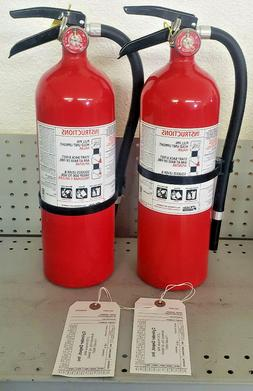 5lb Fire Extinguisher ABC Dry Chemical Rechargeable KIDDE 3A