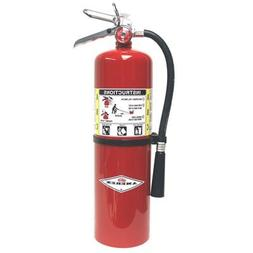 Amerex 10 Pound ABC Dry Chemical Fire Extinguisher With Alum