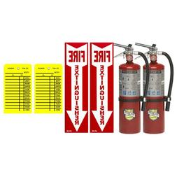 Buckeye 5 Lb. Type ABC Dry Chemical Fire Extinguishers with