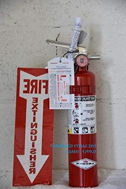 Amerex 2.5 LB. ABC Fire Extinguisher - Rechargeable and Cert