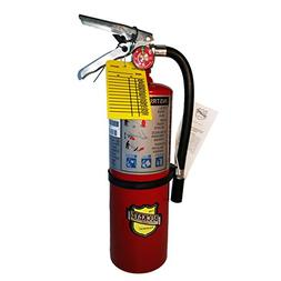 5 LB ABC Fire Extinguisher W/sign and Visual Monthly Tag