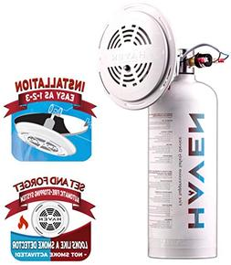 Haven Automatic Heat-Activated Fire Extinguisher, Non-Toxic,