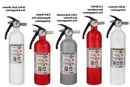 Kidde B:C Dry Chemical Fire Extinguisher Home Car Auto Kitch
