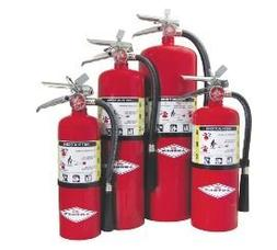 AMEREX B424 Fire Extinguisher, Dry Chemical, 2A:10B:C