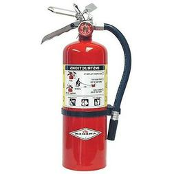 Amerex B500, 5lb ABC Dry Chemical Class A B C Fire Extinguis