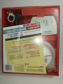 BRK First Alert Carbon Monoxide,Smoke Alarm & 5-B:C rated fi
