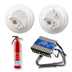 First Alert BRK SC9120B Hardwired Smoke and Carbon Monoxide