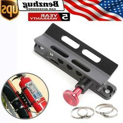 Car Quick Release Fire Extinguisher Roll Cage Bar Mount Brac