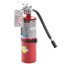 5 Lb. Type ABC Dry Chemical Fire Extinguisher with Wall Hook