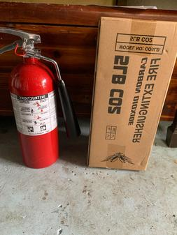 CO2 FIRE extinguisher 5BL Victory Brand New