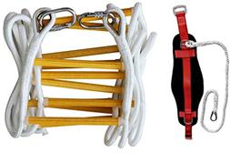 Emergency Fire Escape Rope ladder 3 Story 4 story Homes 32 F