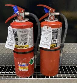 FIRE EXTINGUISHER 10lb ABC   SET OF 2