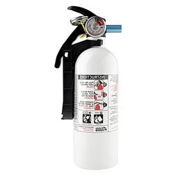 Fire Extinguisher 5-B:C Disposable White Emergency Home Car