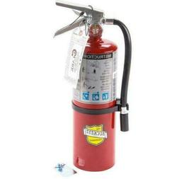 Buckeye Fire Extinguisher 5 Lb ABC Rechargeable UL Rating 3A