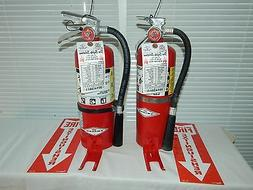 Fire Extinguisher - 5Lb ABC Dry Chemical Lot of 2