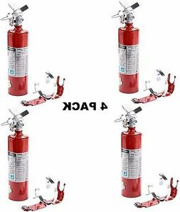 2.5 lb Fire Extinguisher ABC Dry Chemical Rechargeable w/Br