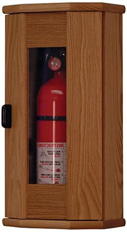 Wooden Mallet Fire Extinguisher Cabinet with Acrylic Door Pa