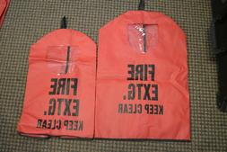 """Fire Extinguisher Cover """"Keep Clear"""" w/ Window Small and Lar"""