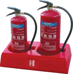 Fire Extinguisher Stand,  5-20 Lb. Extinguisher Stand