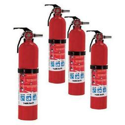 First Alert Home Fire Extinguisher - 4-Pk, Rated 1-A:10-B:C,