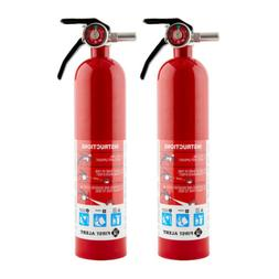First Alert Rechargeable Home Fire Extinguisher ABC 2.5 Poun