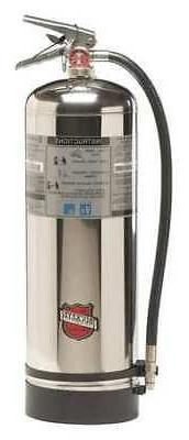 BUCKEYE 50000 Fire Extinguisher, 2A, Water, 2.5 gal