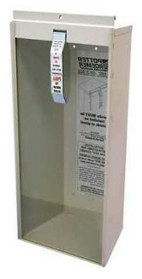ECON 9751-IC Fire Extinguisher Cabinet,19 in. H,White