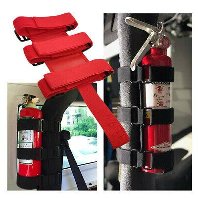 Useful Car Roll Bar Fire Extinguisher Holder Mount Bracket A