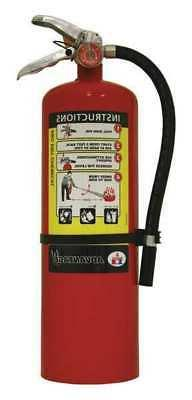 BADGER ADV-10 Fire Extinguisher, 4A:60B:C, Dry Chemical, 10