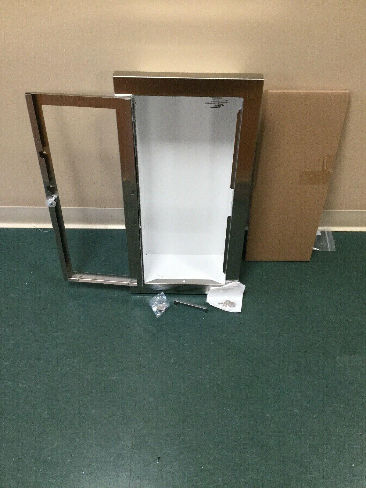 C1036G17 STAINLESS EXTINGUISHER CABINET