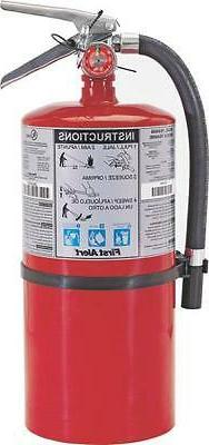 New Case  First Alert Pro10 Red 10lb Commercial Fire Extingu