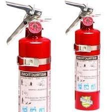 2 1/2 Lb. Type ABC Dry Chemical Fire Extinguishers, with 2