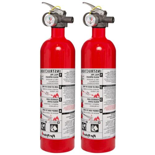Disposable Fire Extinguisher Dry Chemical Safety 6 ft. Range