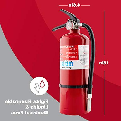 First FE2A10GR Home Extinguisher Red