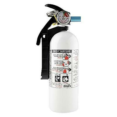 marine fire extinguisher kiddie 3 lb white