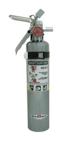 Fire Extinguisher, Dry Chemical, 2.5 Lbs
