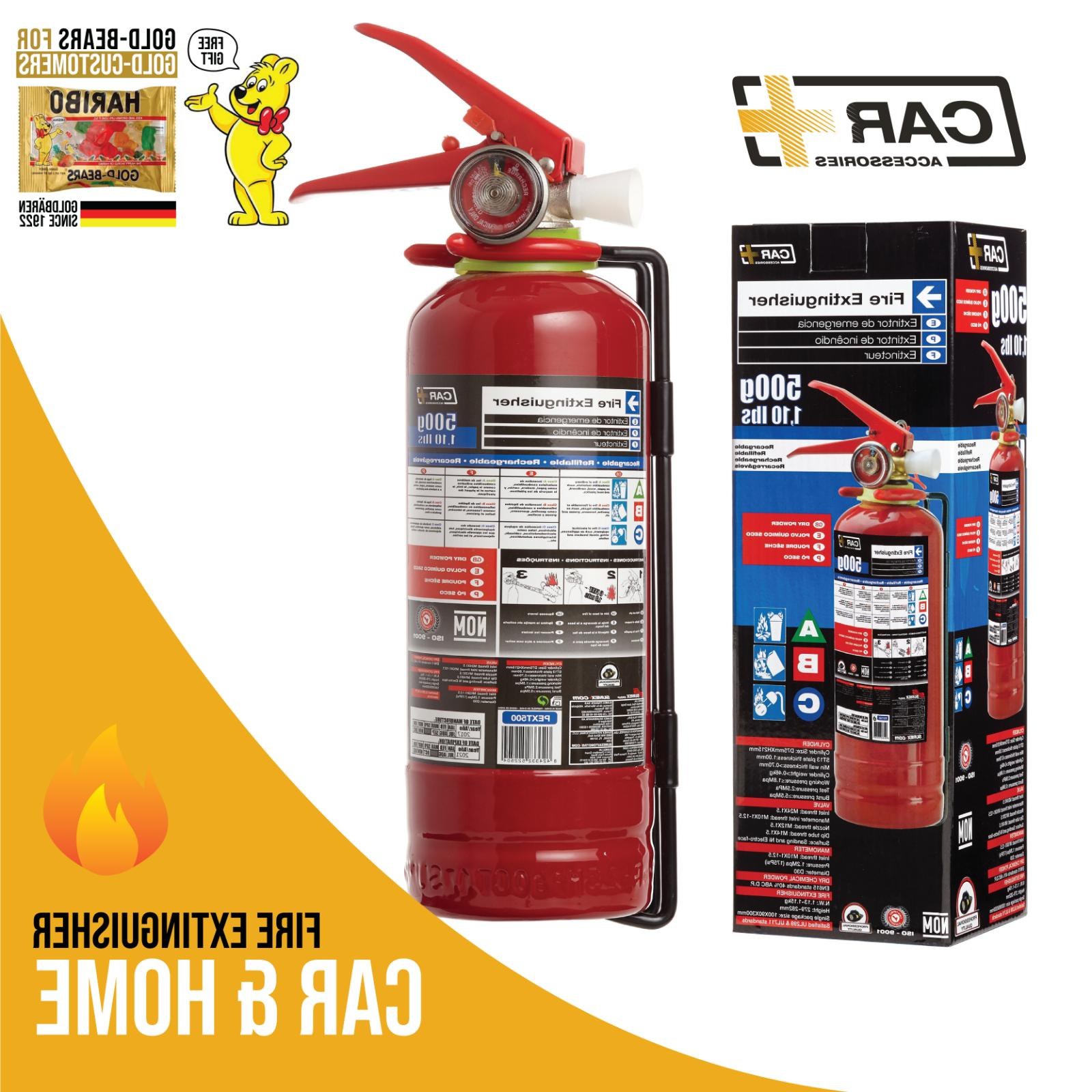 fire extinguisher dry chemical powder safety portable