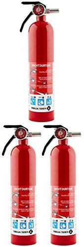 First Alert WSDHFGA Rechargable Standard Home Fire Extinguis