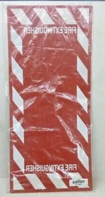 new fire extinguisher sign 29 x 13in