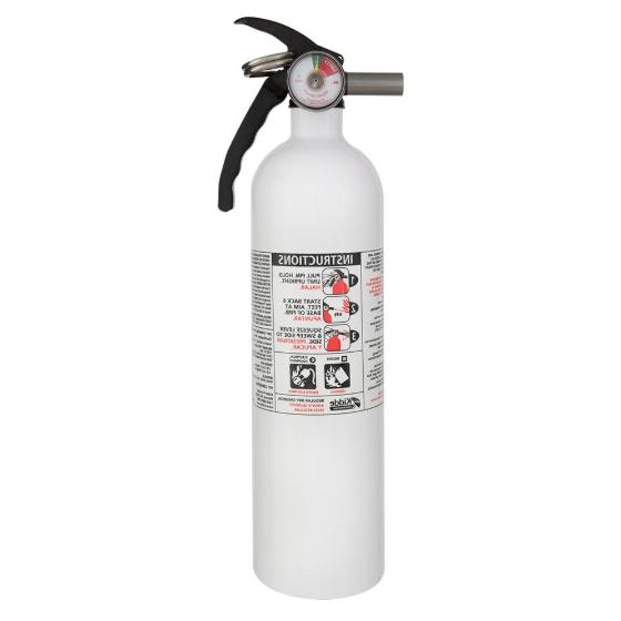 portable fire extinguisher disposable car boat marine