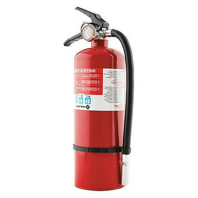 FIRST ALERT PRO5 Fire Extinguisher, 3A:40B:C, Dry Chemical,