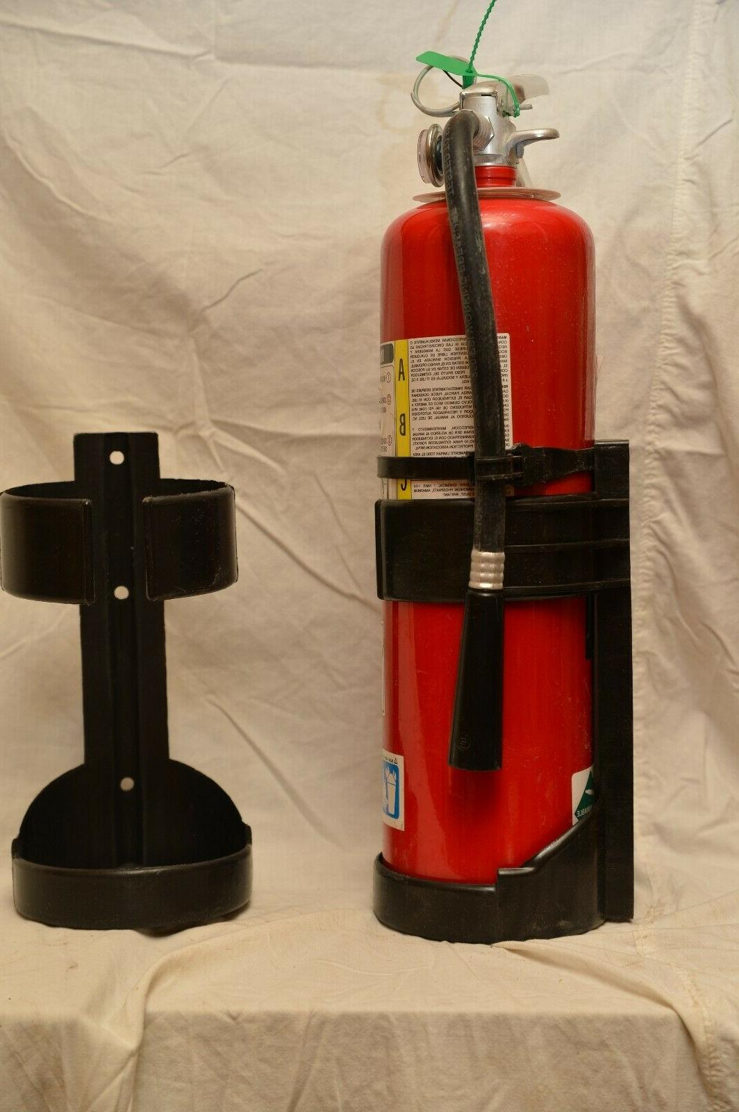 UNIVERSAL 10LB FIRE EXTINGUISHER BLACK ABS PLASTIC VEHICLE B