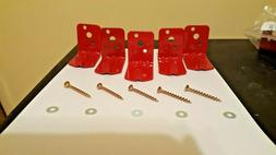 20 lb. ABC Fire Extinguisher Hooks W/ Screws And Washers.